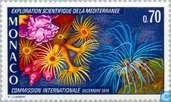 Postage Stamps - Monaco - Congress Mediterranean research