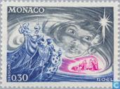 Postage Stamps - Monaco - Girl Face