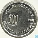Slowenien 500 tolarjev 1991