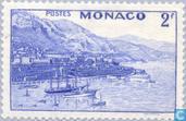 Postzegels - Monaco - Gezichten op Monaco