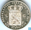 Netherlands ½ gulden 1847