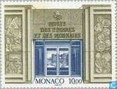 Initiation stamp and coin museum