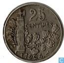 France 25 centimes 1904