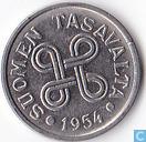 Finland 5 markkaa 1954
