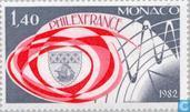 Postage Stamps - Monaco - Int. stamp tent. Philexfrance