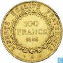 Frankrijk 100 francs 1886