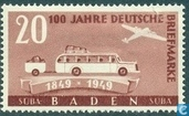 100 years German stamps