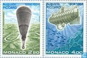 1984 Piccard, Auguste (MON 507)