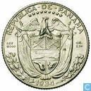 Panama 1 / 10 balboa 1934