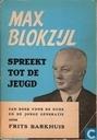 Max Blokzijl spreekt tot de jeugd