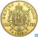Frankrijk 100 francs 1858 (A)