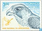 Timbres-poste - Monaco - Parc du Mercantour Raptors