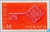 Postage Stamps - Monaco - Europe – Key