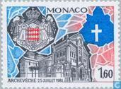 Postzegels - Monaco - Monaco aartsbisdom