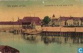 Vele groeten uit Urk - Aankomende in de oude haven van Urk