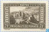Postage Stamps - Monaco - View of the Principality