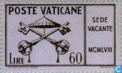 Postage Stamps - Vatican City - Death Pope Pius XII