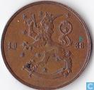 Finnland 10 Pennia 1938
