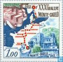 Timbres-poste - Monaco - 31e Rallye Monte-Carlo