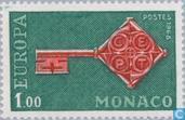 Postzegels - Monaco - Europa – Sleutel