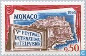 Postage Stamps - Monaco - Int. Television Festival 5th