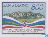 Briefmarken - San Marino - Besuchen Francesco