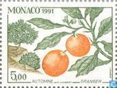 Postzegels - Monaco - De Vier Jaargetijden