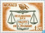 Postage Stamps - Monaco - Human Rights