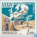 Postage Stamps - Monaco - 34th Rallye Monte Carlo