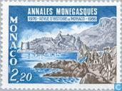 Briefmarken - Monaco - Journal Annales Monegassen ""