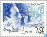 Postage Stamps - Monaco - Gershwin, George