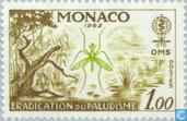 Postage Stamps - Monaco - Fighting Malaria