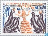 Postage Stamps - Monaco - Int. Circus Festival