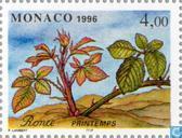 Timbres-poste - Monaco - Les Quatre Saisons