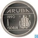 Aruba 1 florin 1990
