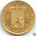 Netherlands 5 gulden 1827 B
