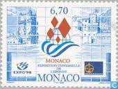Timbres-poste - Monaco - EXPO de Lisbonne