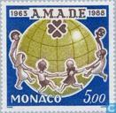 Postage Stamps - Monaco - AMED