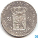 Netherlands 2½ gulden 1841