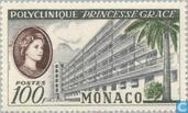 Postage Stamps - Monaco - Opening clinic