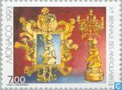 Postage Stamps - Monaco - Meeting jewelers and art dealers
