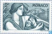 Postage Stamps - Monaco - Beneficence