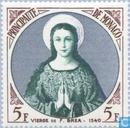 Postage Stamps - Monaco - Immaculate Virgin, 1540, by François Bréa