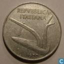 Italie 10 lire 1970
