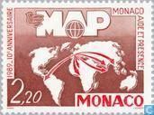"""Postage Stamps - Monaco - Monaco Aide et Présence """""""