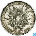 Zwitserland 5 francs 1867