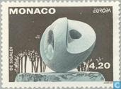 Postage Stamps - Monaco - Europe – Contemporary art