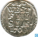 West-Friesland 2 pence 1709