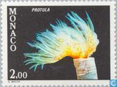 Postzegels - Monaco - Fauna Middellandse Zee