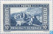 Timbres-poste - Monaco - Vue de la Principauté